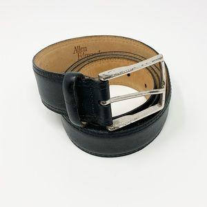 Allen Edmonds   Black Leather Belt
